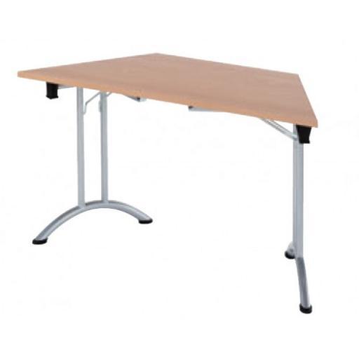 Trapazoidal Folding Table