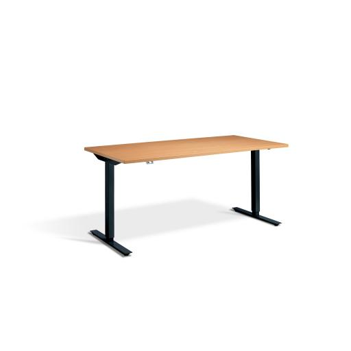 Mini Advance Sit and Stand Height adjustable Desk 1000 x 600