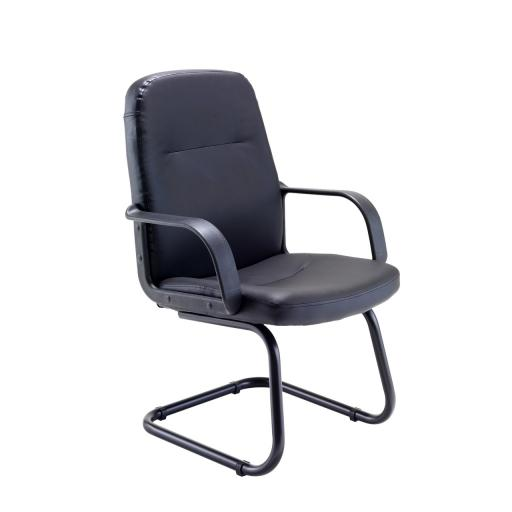 Canasta 11 leather visitors Chair with Free Delivery