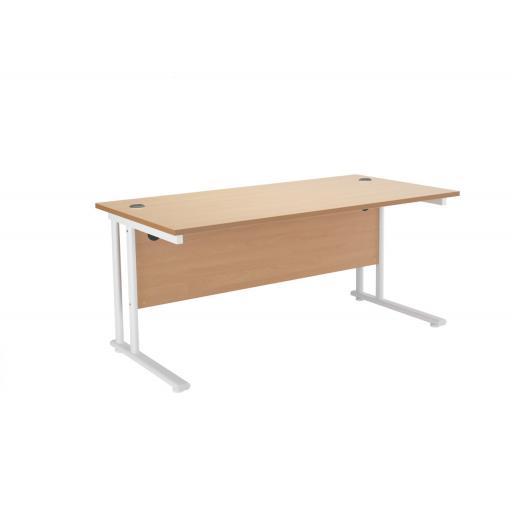 Budget Rectangular Desk 1200 x 800