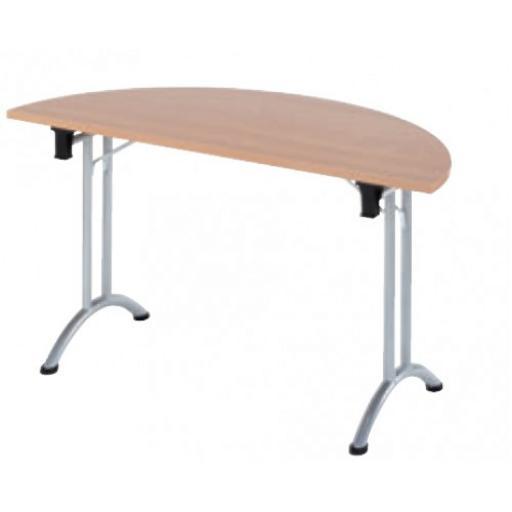 Semi Circular Folding table