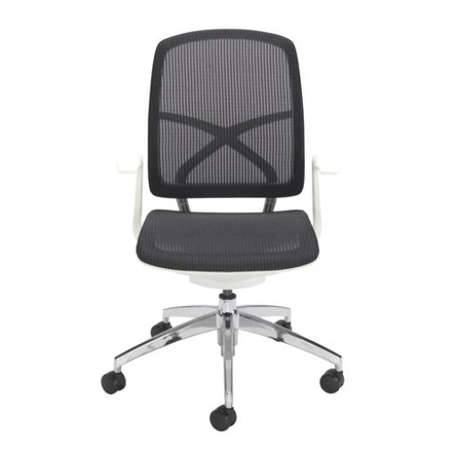 Zico Modern Mesh Chair in Black and white with free delivery