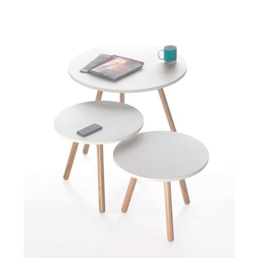 reception tri pod coffee table