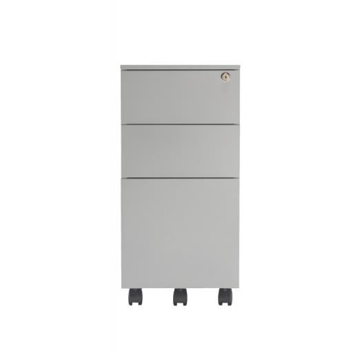 Contract Steel Pedestal 3 Drawer