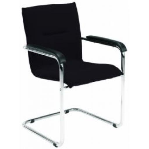 Pavia Visitor Chair Black