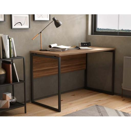 SOHO Milton Home Desk Rectangular Desk free delivery