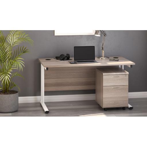 Big Bundle Desk set Desk & 2 or 3 Drawer Pedestal complete