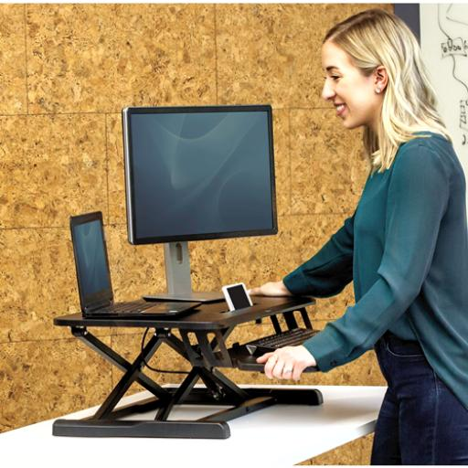 Fellowes Corsivo Desk Top Sit and Stand