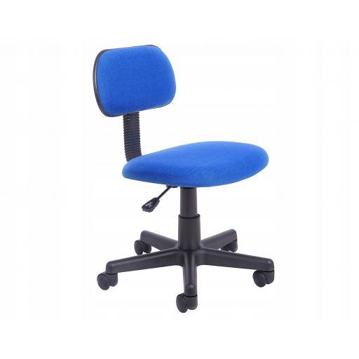Maya Desk Chair - Royal Blue