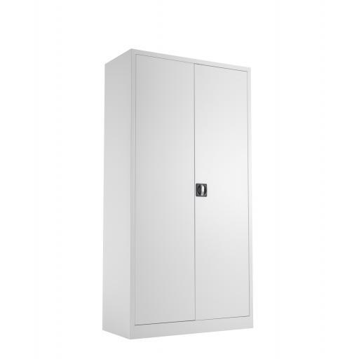TC Steel Double Door Cupboard 1790 Grey