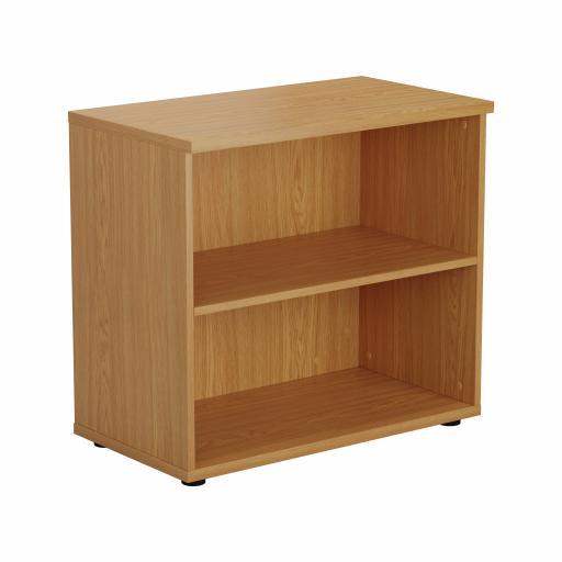 700 Wooden Bookcase (450mm Deep) Nova Oak