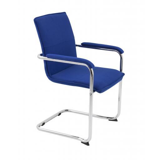 Pavia Visitor Chair Royal Blue