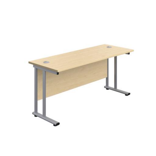 1600 x 800 Straight Cantilever Desk