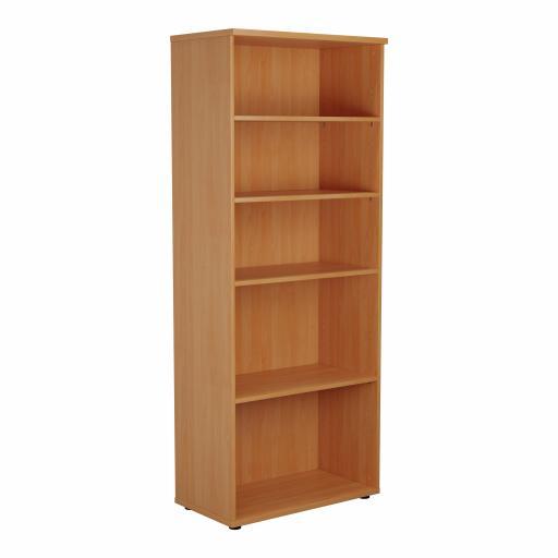 2000 Wooden Bookcase (450mm Deep) Grey Oak