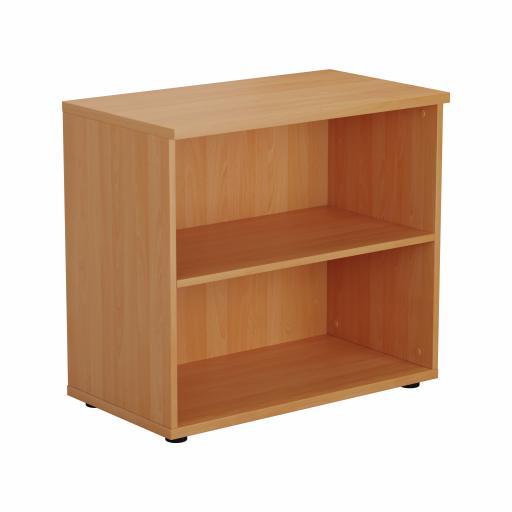 700 Wooden Bookcase (450mm Deep) Beech